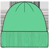 Женские хлопковые шапки